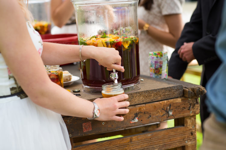 Colourful DIY Village Hall Wedding http://samanthagilrainephotography.com/