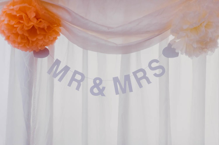 Mr Mrs Bunting Home Made Garden Party Wedding www.purplepeartreephotography.com