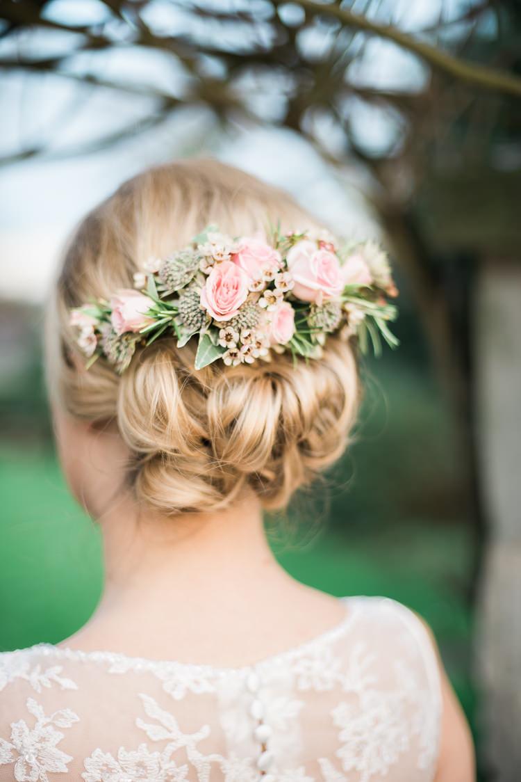 Soft Pink Rustic Winter Wedding Whimsical Wonderland