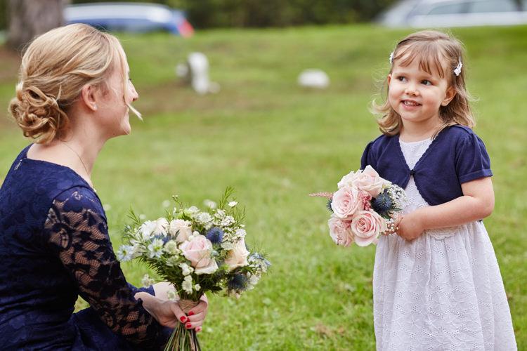 Flower Girl Industrial Country Rustic Wedding https://www.fullerphotographyweddings.co.uk/