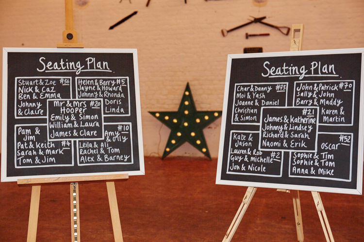 Black Chalk Board Sign Seating Plan Table Chart Industrial Country Rustic Wedding https://www.fullerphotographyweddings.co.uk/