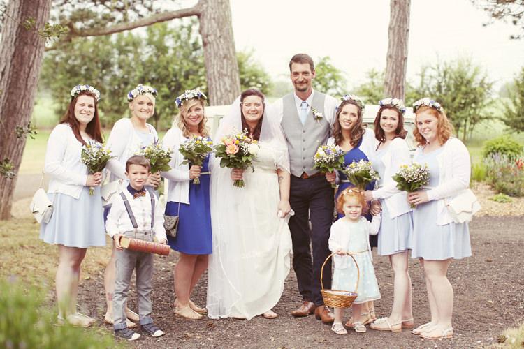 Mismatched Fairground Woodland Wedding http://www.rebeccaweddingphotography.co.uk/