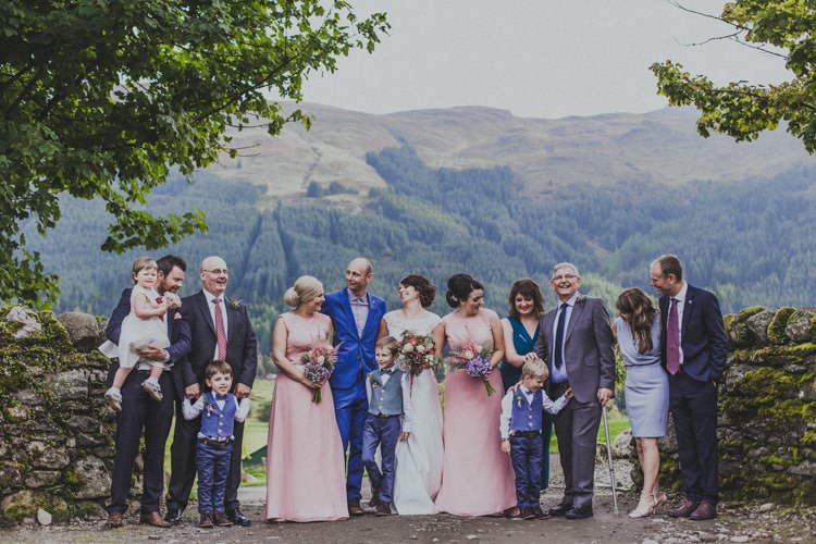 Natural & Beautiful Autumn Outdoor Wedding