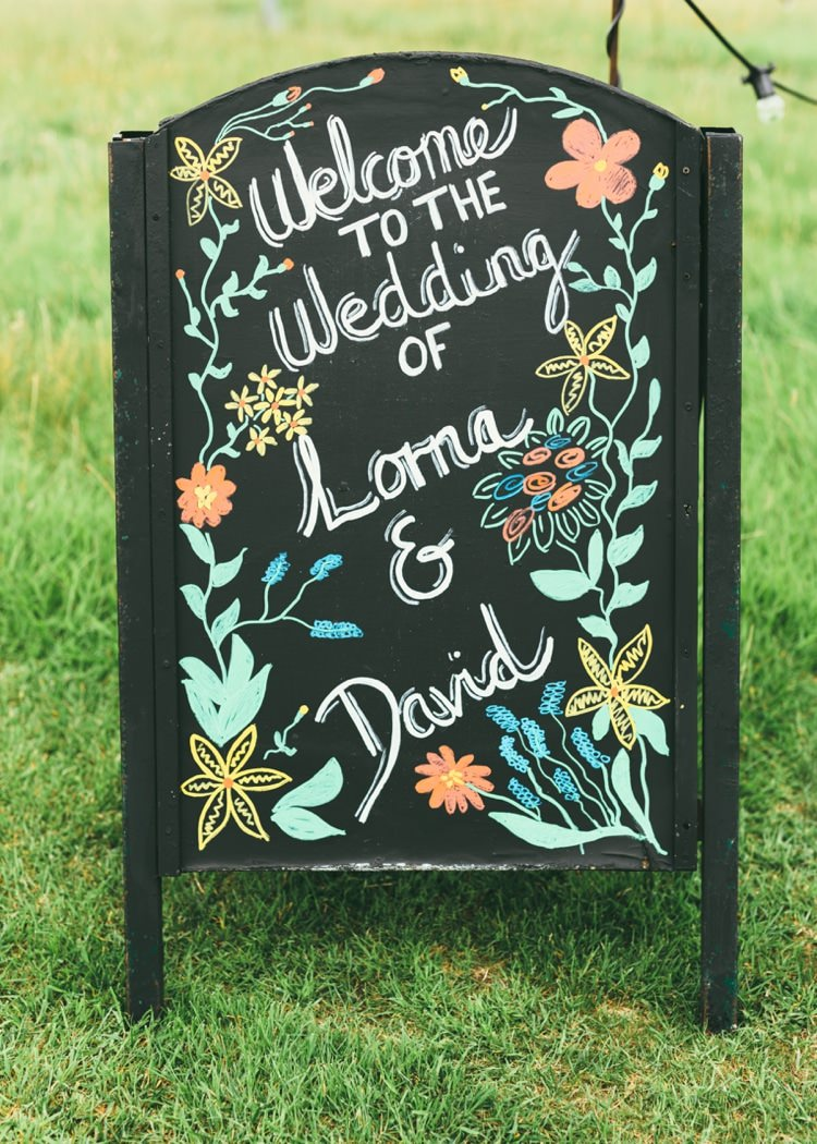 Black Chalk Board Sign Welcome Boho Beer Festival Wedding http://www.emilysteve.com/