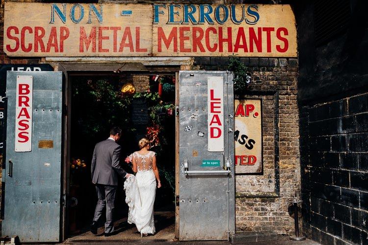 Islington Metalworks London Quirky Music City Wedding http://www.mariannechua.com/