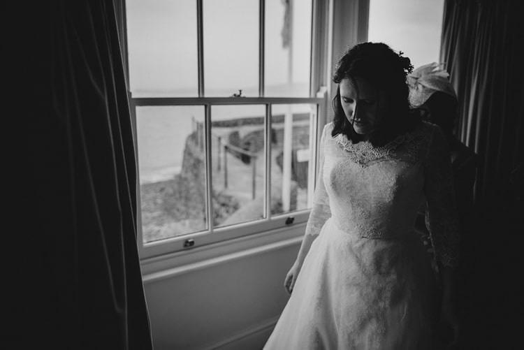 Lyn Ashworth Dress Gown Bride Bridal Lace Sleeves Indie Rustic Beach Marquee Wedding http://www.abiriley.co.uk/