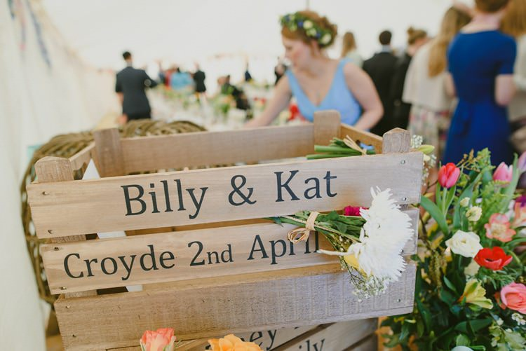 Crate Cards Holder Indie Rustic Beach Marquee Wedding http://www.abiriley.co.uk/