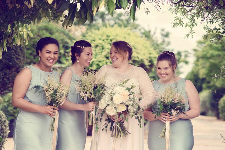 Green Bridesmaid Dresses Ghost Homespun Mint Yurt Wedding http://www.jessicaraphaelphotography.com/