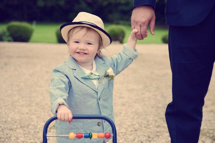 Page Boy Hat Bow Tie Homespun Mint Yurt Wedding http://www.jessicaraphaelphotography.com/