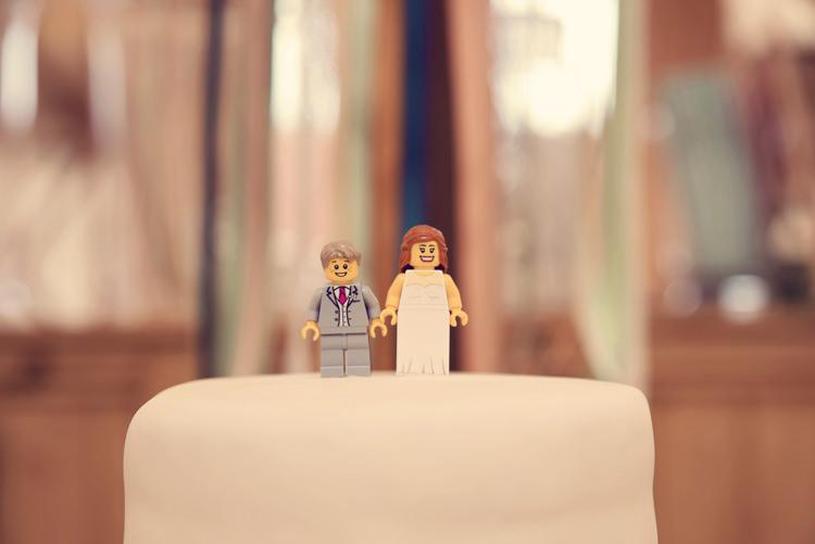 Lego Cake Topper Homespun Mint Yurt Wedding http://www.jessicaraphaelphotography.com/