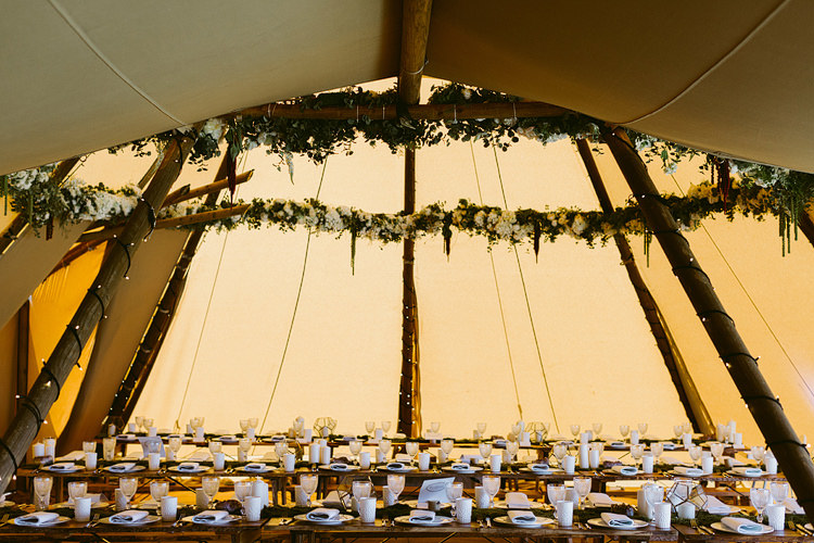 Foliage Garlands Swags Tipi Decor Bohemian Outdoor Blessing Garden Wedding http://www.lukehayden.co.uk/