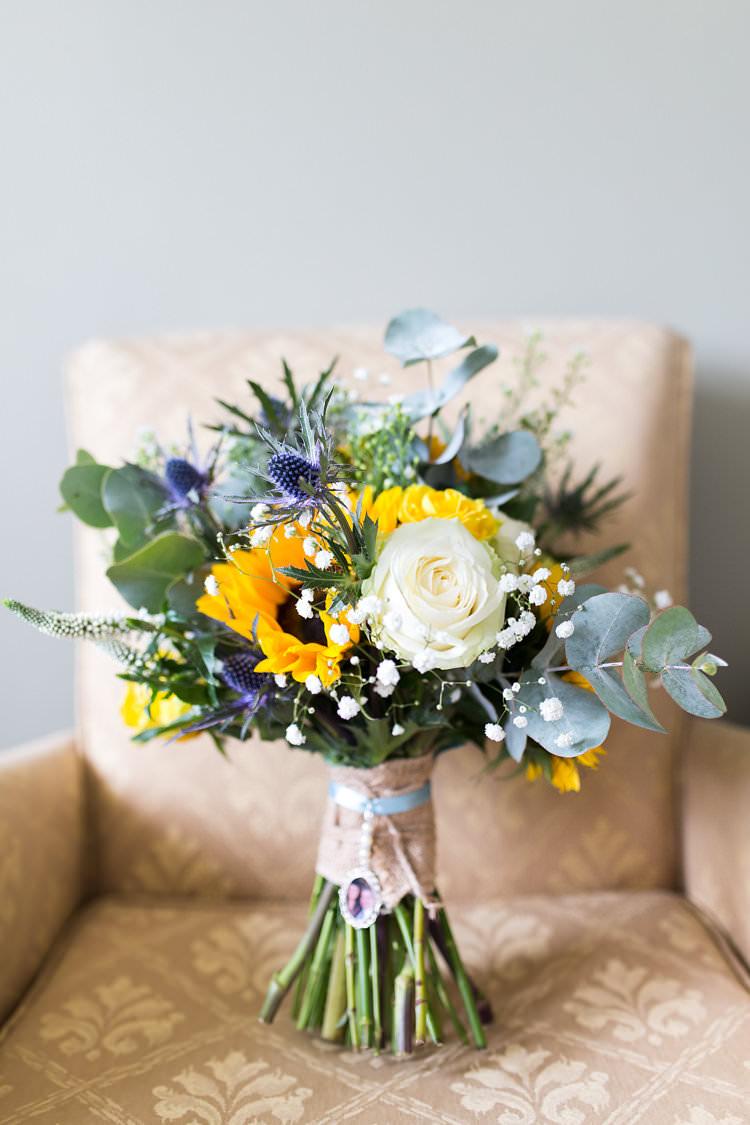 Summer Sunflowers DIY Marquee Wedding Whimsical