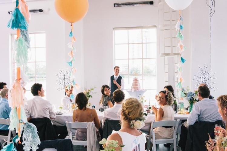 Light Pretty Peach London City Wedding http://www.katiepalmerphotography.co.uk/