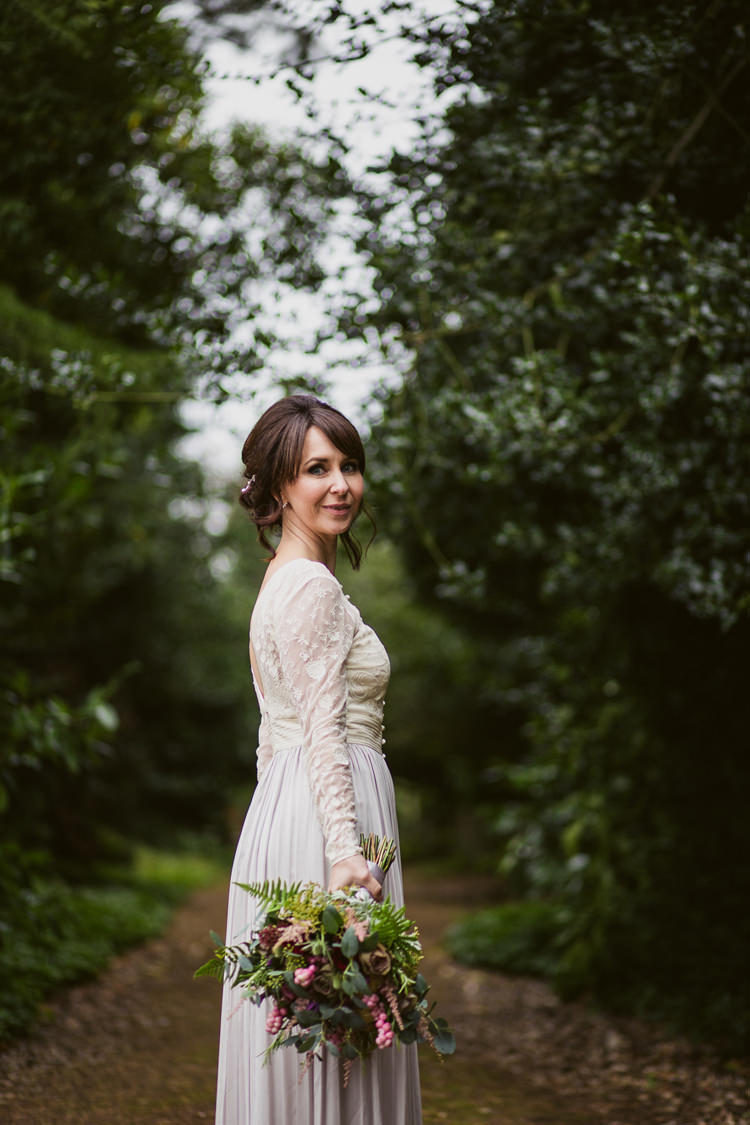 Catherine Deane Skirt Top Bride Bridal Relaxed Autumnal Child Friendly Wedding http://kathrynedwardsphotography.com/