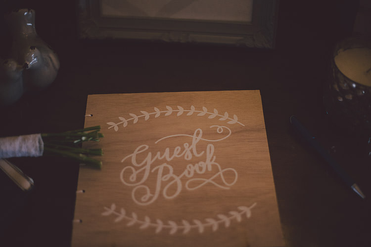 Wooden Guest Book Chic Rustic Grey Barn Wedding http://www.kevelkinsphotography.co.uk/