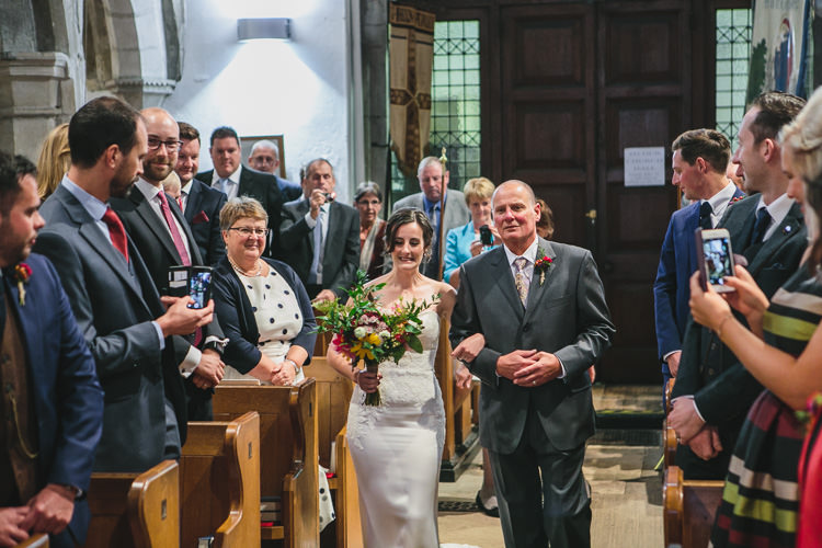 Bride Blue by Enzoani Father of the Bride Relaxed Cosy Stylish Autumnal Wedding http://www.tierneyphotography.co.uk/