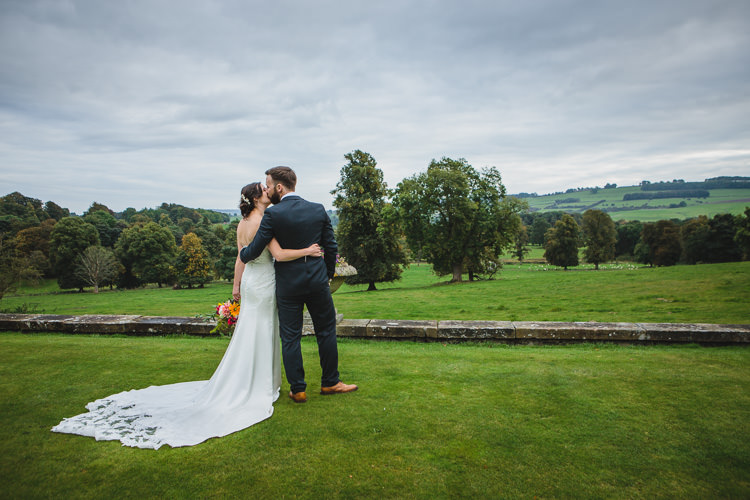 Blue by Enzoani Ted Baker Groom Relaxed Cosy Stylish Autumnal Wedding http://www.tierneyphotography.co.uk/