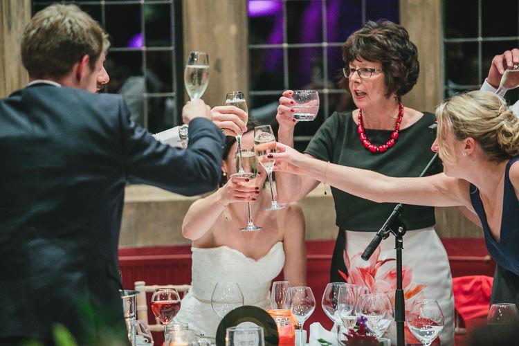 Toast Thornbridge Hall Relaxed Cosy Stylish Autumnal Wedding http://www.tierneyphotography.co.uk/