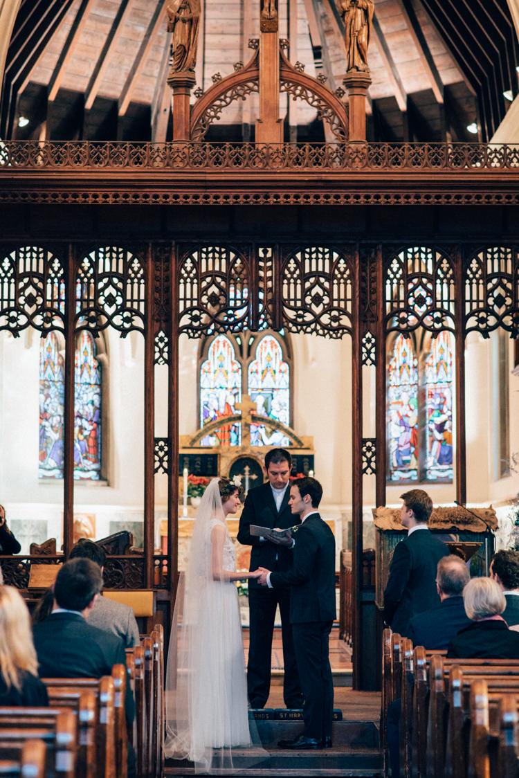 St Mary Oatlands Heartwarming Festive Winter Wedding http://www.nikkivandermolen.com/