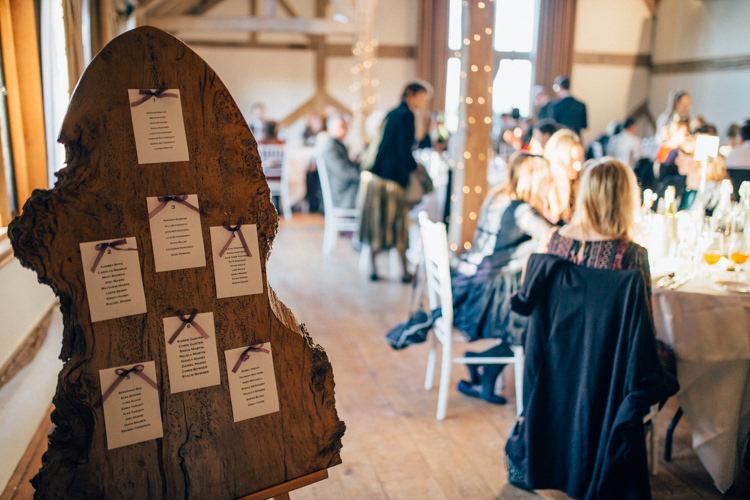 Cain Manor Rustic Table Plan Heartwarming Festive Winter Wedding http://www.nikkivandermolen.com/