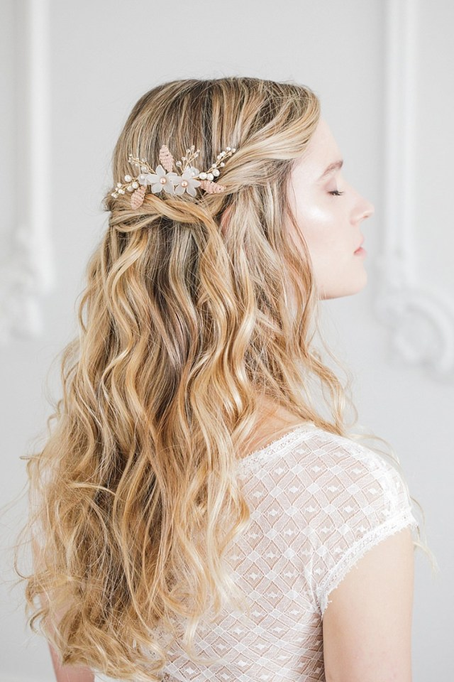 beautiful bridal accessories & wedding veil inspiration with