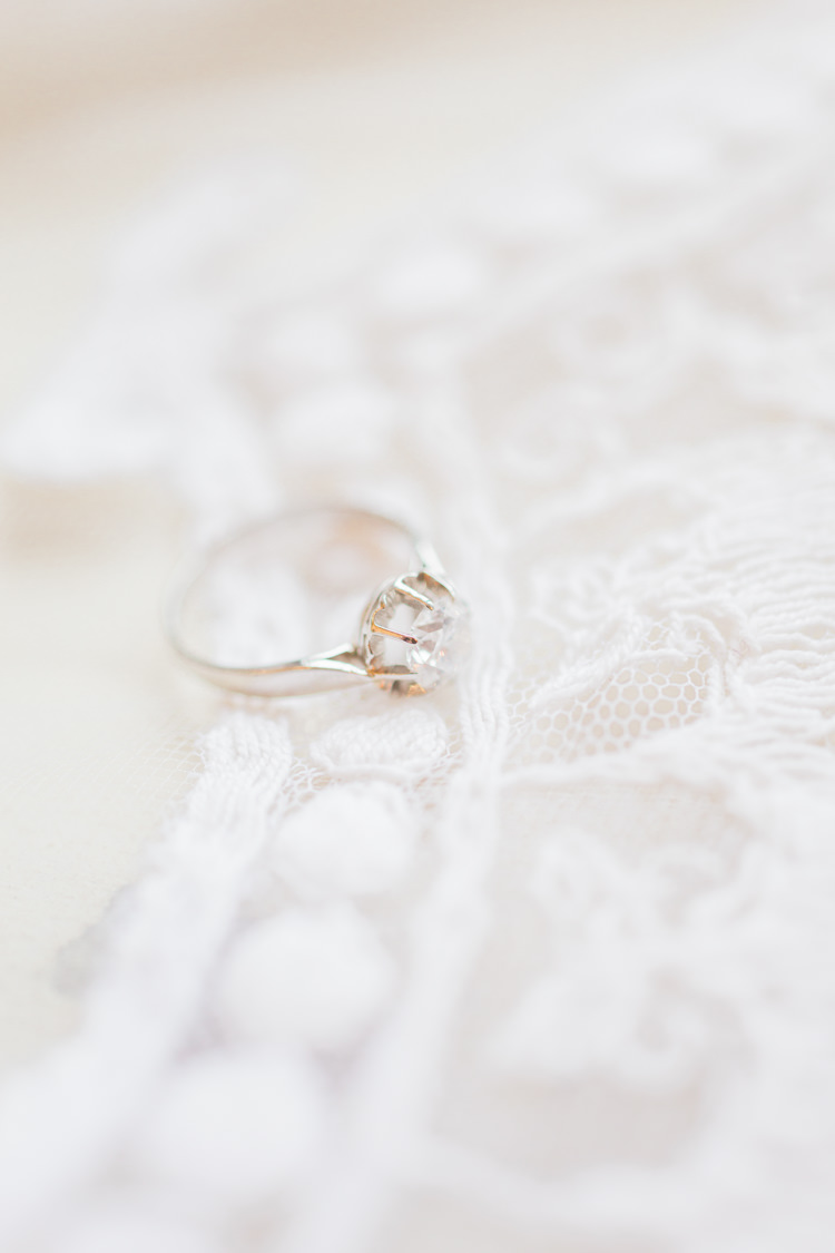 Princess Cut Diamond Engement Ring White Gold Platinum Whimsical Elegant Classic Wedding http://katymelling.com/