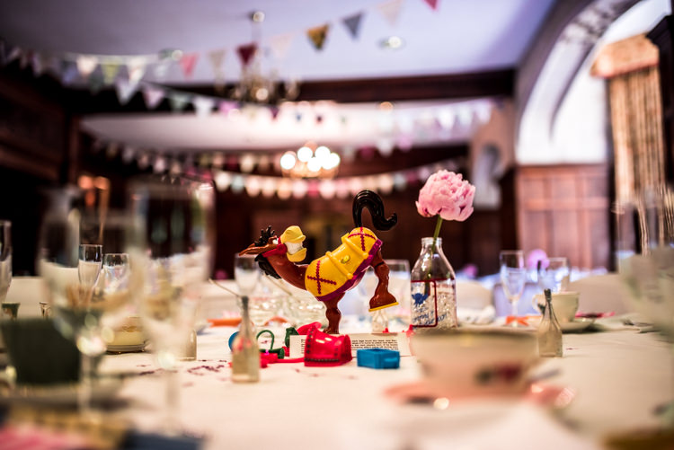 Board Games Tables Decor Quirky English Garden Party Wedding http://www.michellewoodphotographer.com/