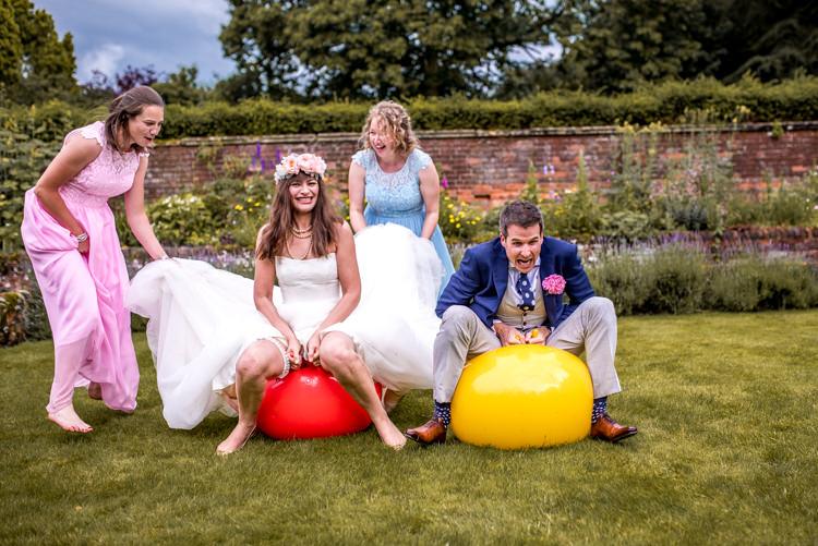 Spacehoppers Quirky English Garden Party Wedding http://www.michellewoodphotographer.com/