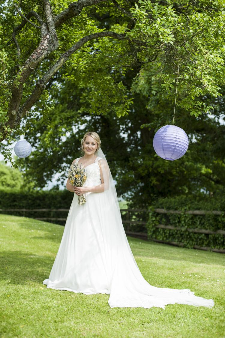 Essense of Australia Dress Gown Bride Bridal Veil Whimsical Summery Lilac Wedding http://eleanorjaneweddings.co.uk/
