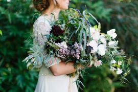 Oxblood Trend Flower Wedding Ideas http://www.melissabeattie.com/