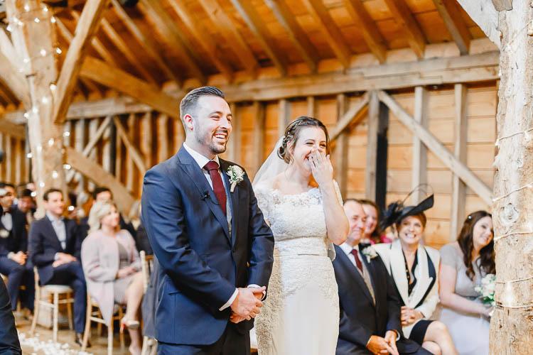 Beautiful Rustic Fairy Lights Barn Wedding http://whitestagweddings.com/