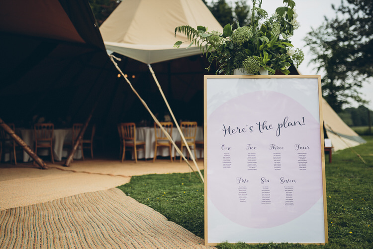Table Plan Details Blush Navy DIY Tipi Wedding Home http://www.kategrayphotography.com/
