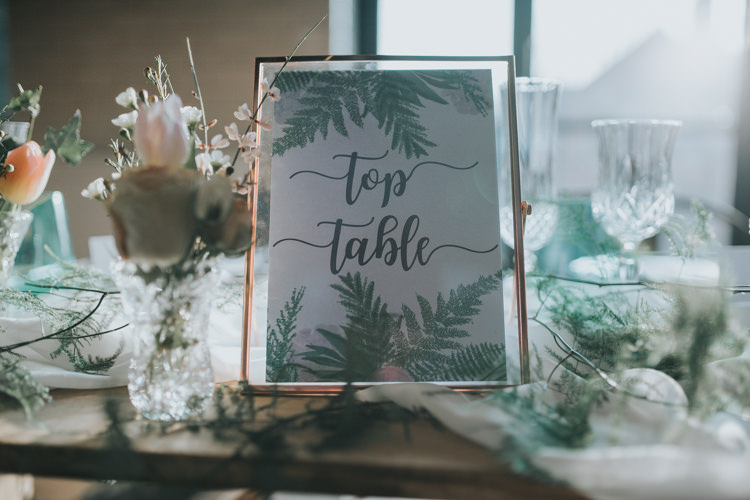 Botanical Stationery Invitation Place Card Menu Setting Paper Table Name Industrial Into The Wild Greenery Wedding Ideas http://www.ivoryfayre.com/