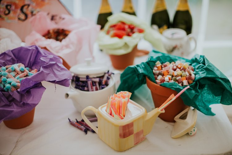 Sweet Sweetie Table Creative Woodland Mad Hatters Tea Party Wedding https://www.clairefleckphotography.com/