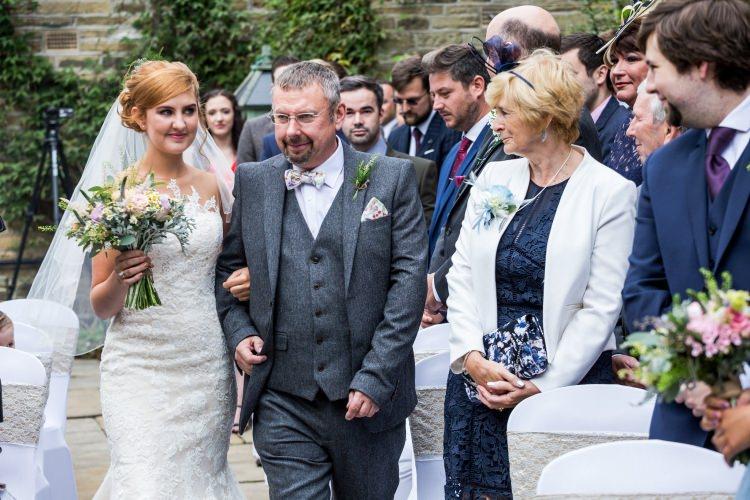Bride Bridal Pronovias Gown Dress Illusion Lace Fishtail Pretty Quirky Pastel Wedding http://www.happilyevercaptured.com/