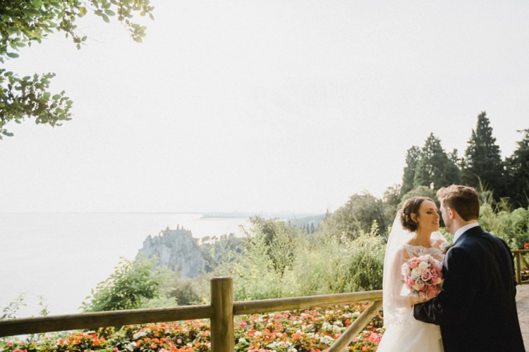Sea View Romantic Vibrant Pink Wedding Trieste http://www.emotionttl.com/en/home/