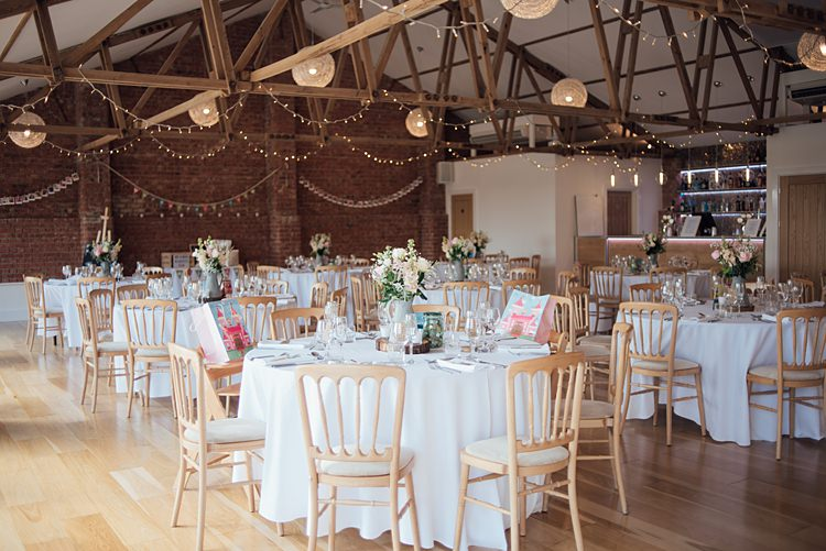 The Green Cornwall Barn Decor Venue