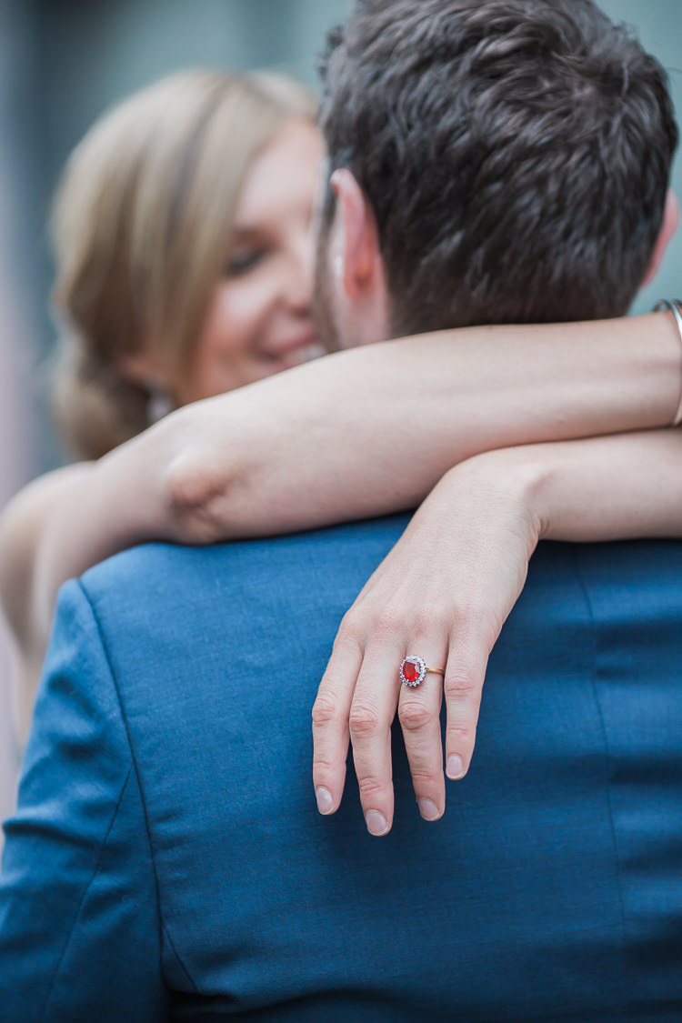 Ruby Ring Engagement Bride Bridal Nails Manicure Intimate Elegant Two Day City Wedding http://siobhanhphotography.com/