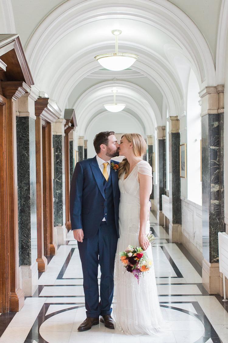 Islington Town Hall London Ceremony Intimate Elegant Two Day City Wedding http://siobhanhphotography.com/