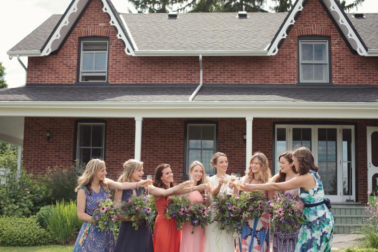 Casual Country Farm Wedding Ontario https://tiedphotography.com/