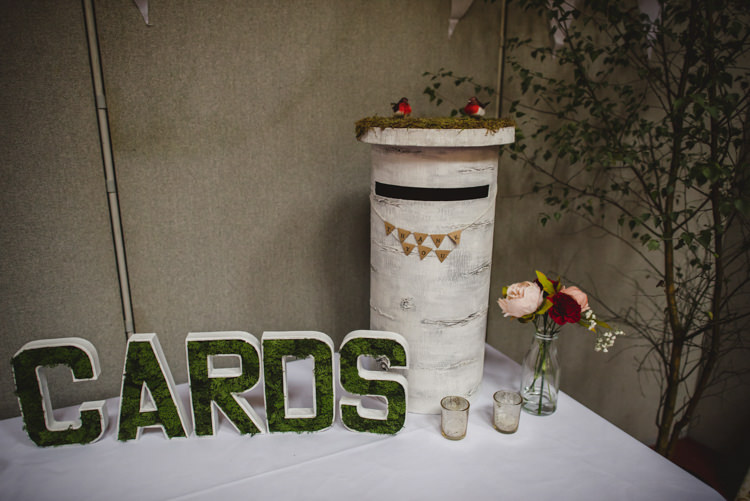 Tree Card Post Box Crafty Fun Personal Arts Centre Wedding http://www.sophieduckworthphotography.com/