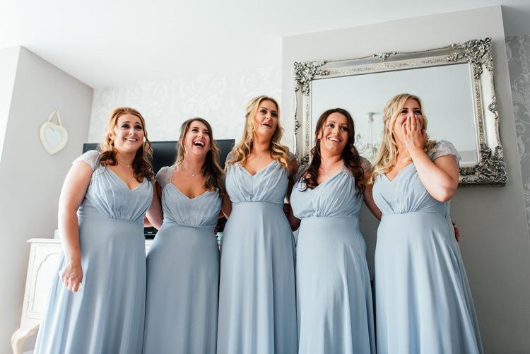 Grey Bridesmaid Dresses Fun Loving Secret Garden Tipi Wedding https://www.aaroncollettphotography.co.uk/