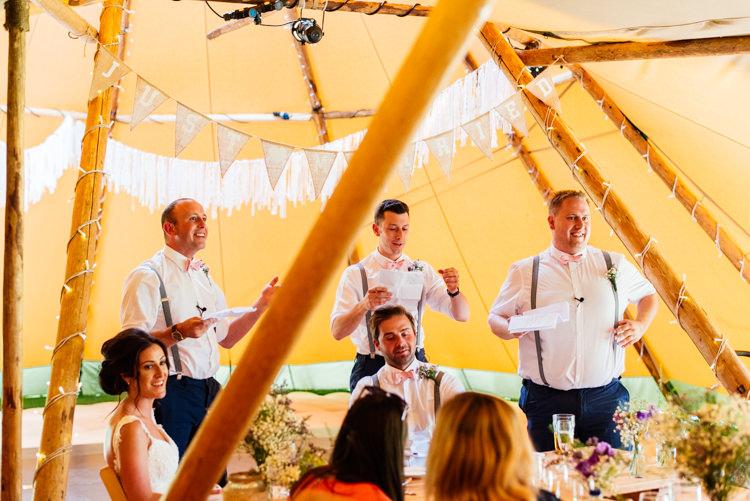 Fun Loving Secret Garden Tipi Wedding https://www.aaroncollettphotography.co.uk/