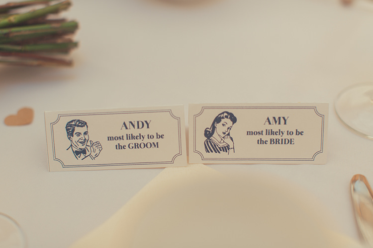Place Name Cards Whimsical Countryside Yurt Wedding http://jamesgreenphotographer.co.uk/