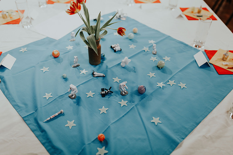 Centrepiece Toys Decor Tables Flowers All The Colours Quirky Dinosaur Wedding https://leahlombardi.com/