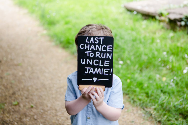 Page Boy Ring Bearer Chalk Sign Funny Humorous Pretty Relaxed Lavender Country Wedding http://www.lydiastampsphotography.com/