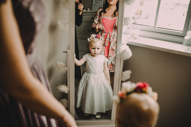 Flower Girl Woodland Lavender Spring Country Wedding http://www.carlablainphotography.co.uk/