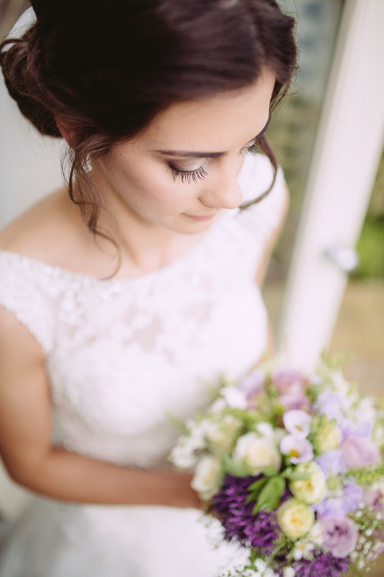 Eyelashes Bride Bridal Make Up Beauty Romantic Soft Pastel Pretty Wedding http://hayleybaxterphotography.com/