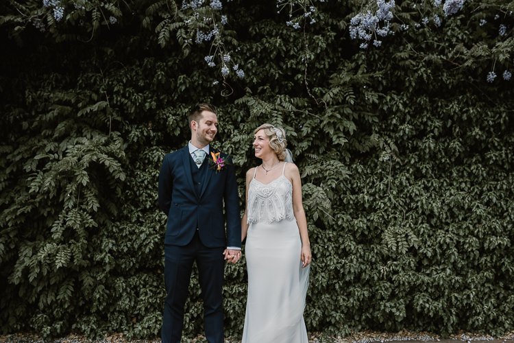 Bridal Separates Top Skirt Embellisehed Bride Martina Liana Art Decor Gatsby 20s 30s Laid Back Local London Lido Wedding http://andrewbrannanphotography.co.uk/