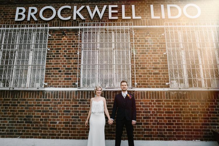 Brockwell Laid Back Local London Lido Wedding http://andrewbrannanphotography.co.uk/